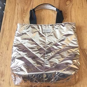 Victoria Secret Rose Gold Tote